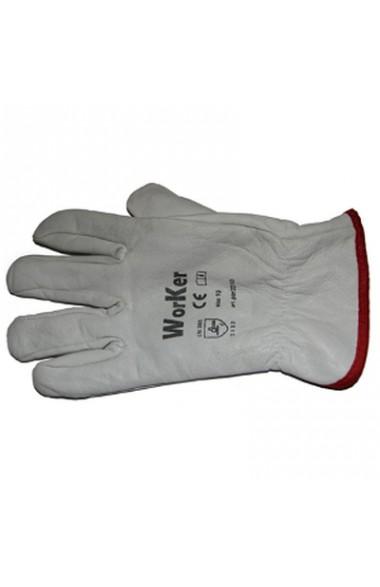 Перчатки кожаные WorKer с подкладкой Арт.2210