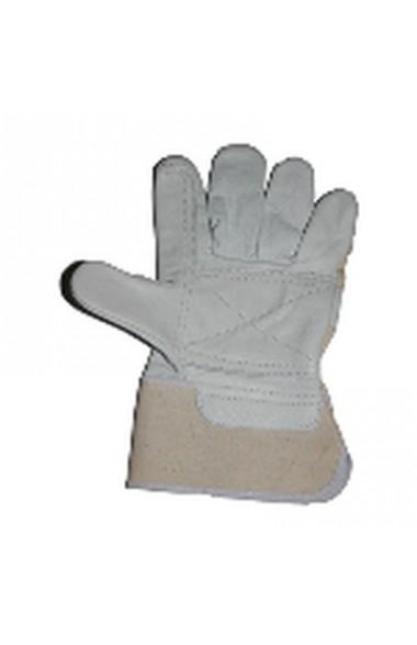 Перчатки комбинированные с кожей усиленные Арт.2235